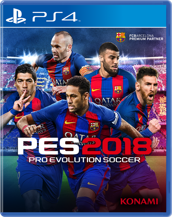 Pro Evolution Soccer 2018 (PS4) (GameReplay)