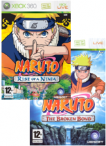 Naruto: Rise of a Ninja + Broken Bond (Xbox 360)