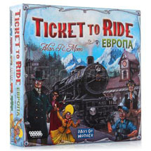 Ticket to Ride: Европа фото