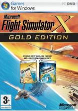 Flight Simulator X Gold Edition (PC-DVD, рус.вер.)
