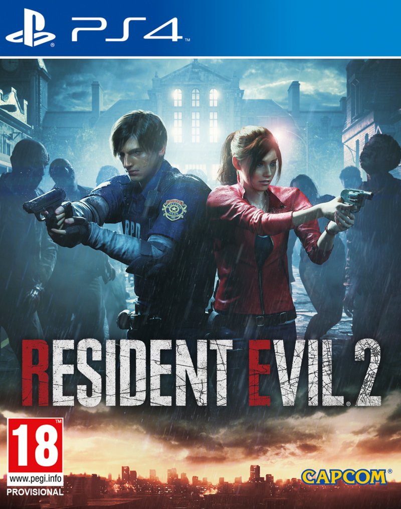 Resident Evil 2 (PS4) (GameReplay)