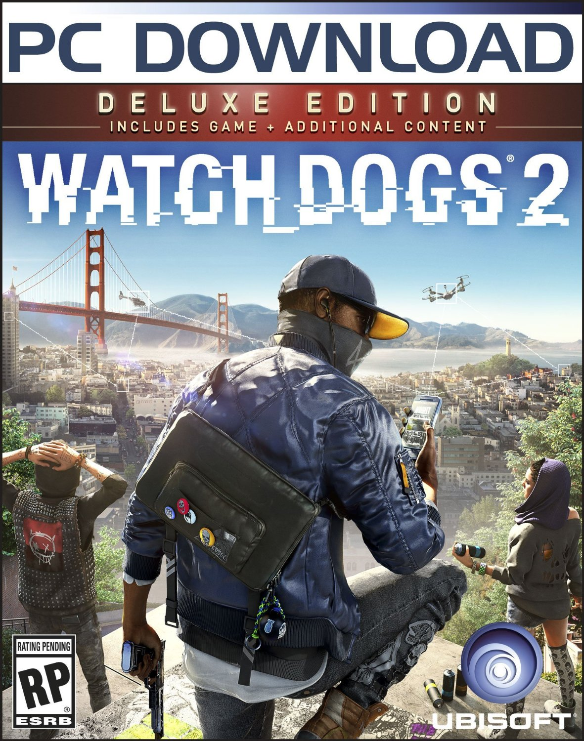 Watch Dogs 2 Deluxe Edition (PC)