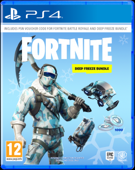 Fortnite. Deep Freeze Bundle. ...