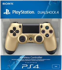 Геймпад Wireless DualShock 4 Gold