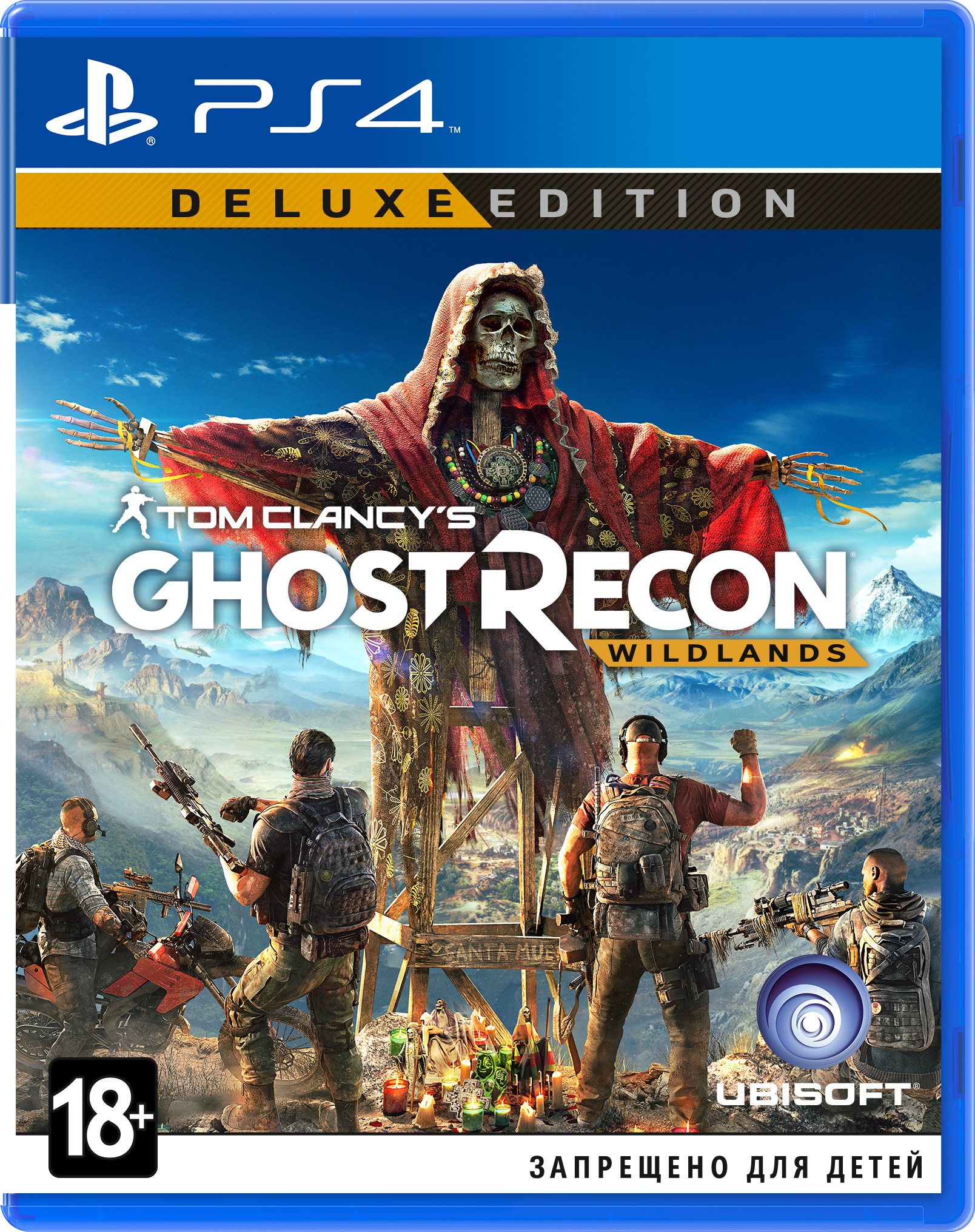 Tom Clancy's Ghost Recon: Wildlands. Deluxe Edition (PS4) (GameReplay)
