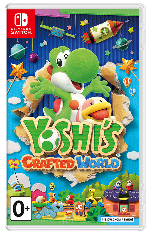 Yoshi's Crafted World (Nintendo Switch) (GameReplay)