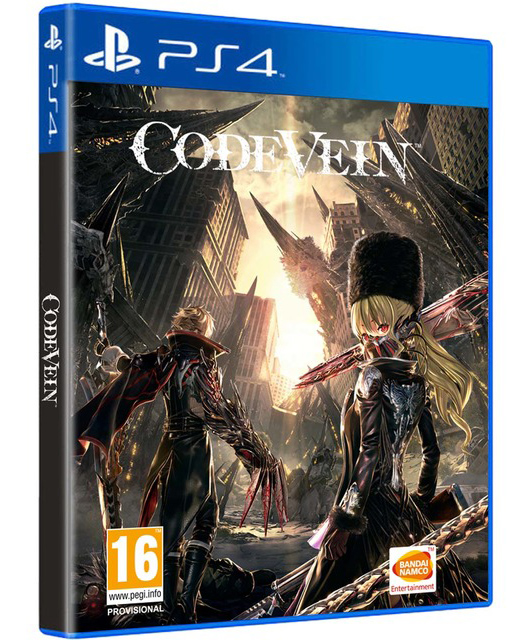 Code Vein (PS4) (GameReplay)