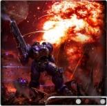 Наклейка PS3 Slim Звездный десант (PS3)
