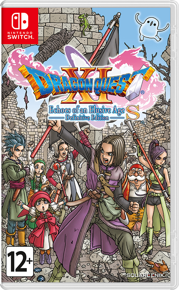 Dragon Quest XI S: Echoes of an Elusive Age. Definitive Edition (Nintendo Switch) (GameReplay)