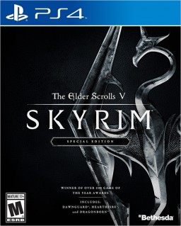 The Elder Scrolls V: Skyrim (PS4) (GameReplay) Bethesda Softworks