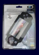 Silicon Case &Screen Guard PSP502 /Logic3/