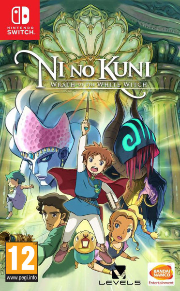Ni no Kuni: Wrath of the White Witch (Nintendo Switch) (GameReplay)