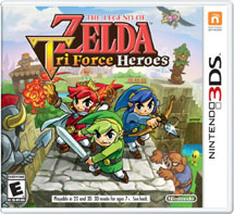 Legend of Zelda: Tri Force Heroes (3DS)