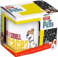 Кружка керамическая в подарочной упаковке (325 мл). Тайная жизнь домашних животных Макс и Дюк
