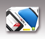 Nintendo 3DS XL HW Black + Blue
