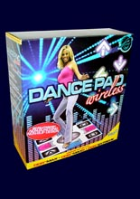 Night Moves Wireless Dance Pad /Pelican/