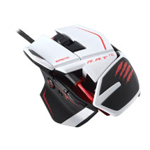 Мышь R.A.T.TE Gaming Mouse - White (PC)