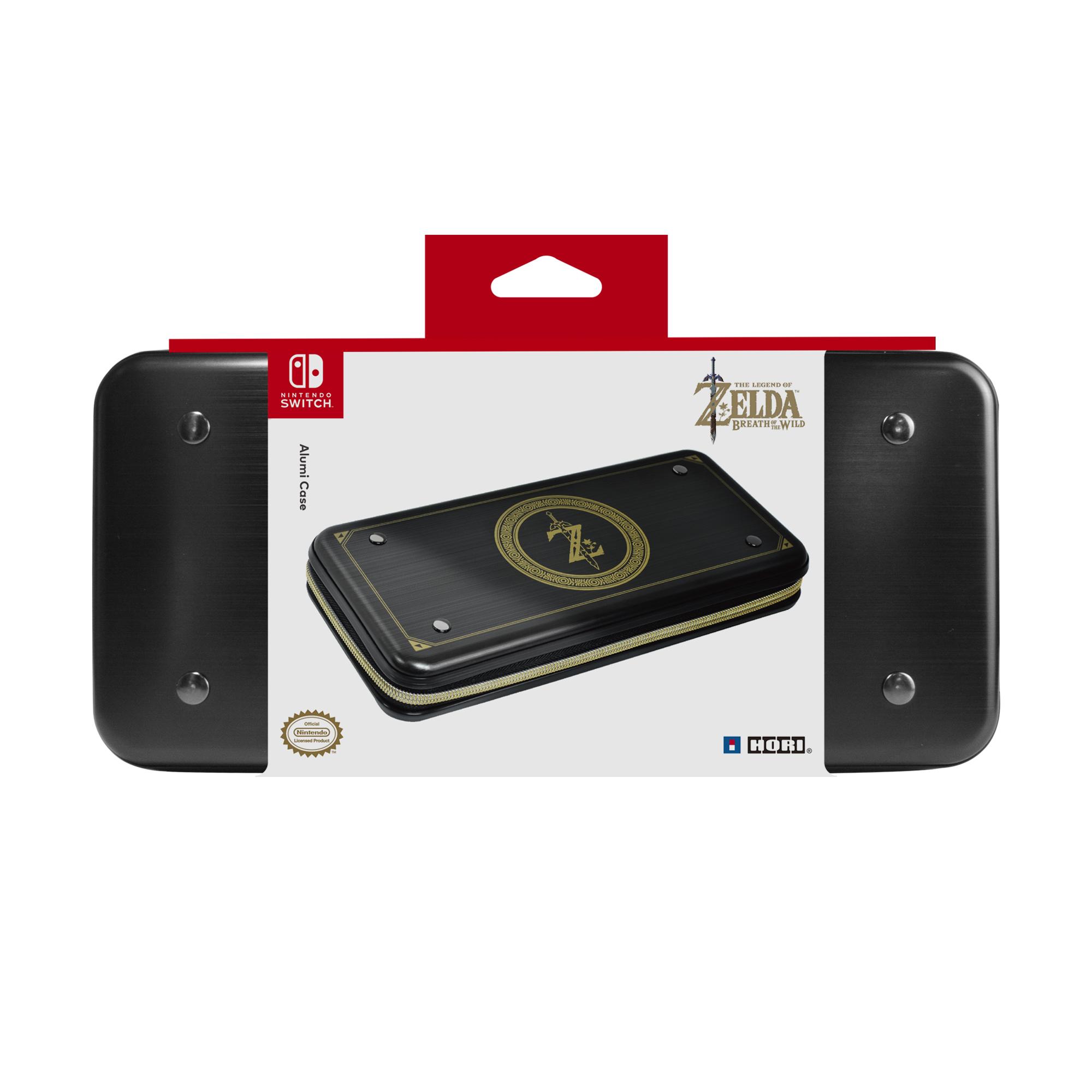 82a89cb5a0cb Nintendo Switch Защитный алюминиевый чехол Hori (Zelda) для консоли Switch ( NSW-091U