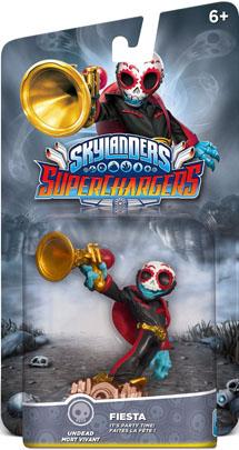 Skylanders SuperChargers Суперзаряд Fiesta