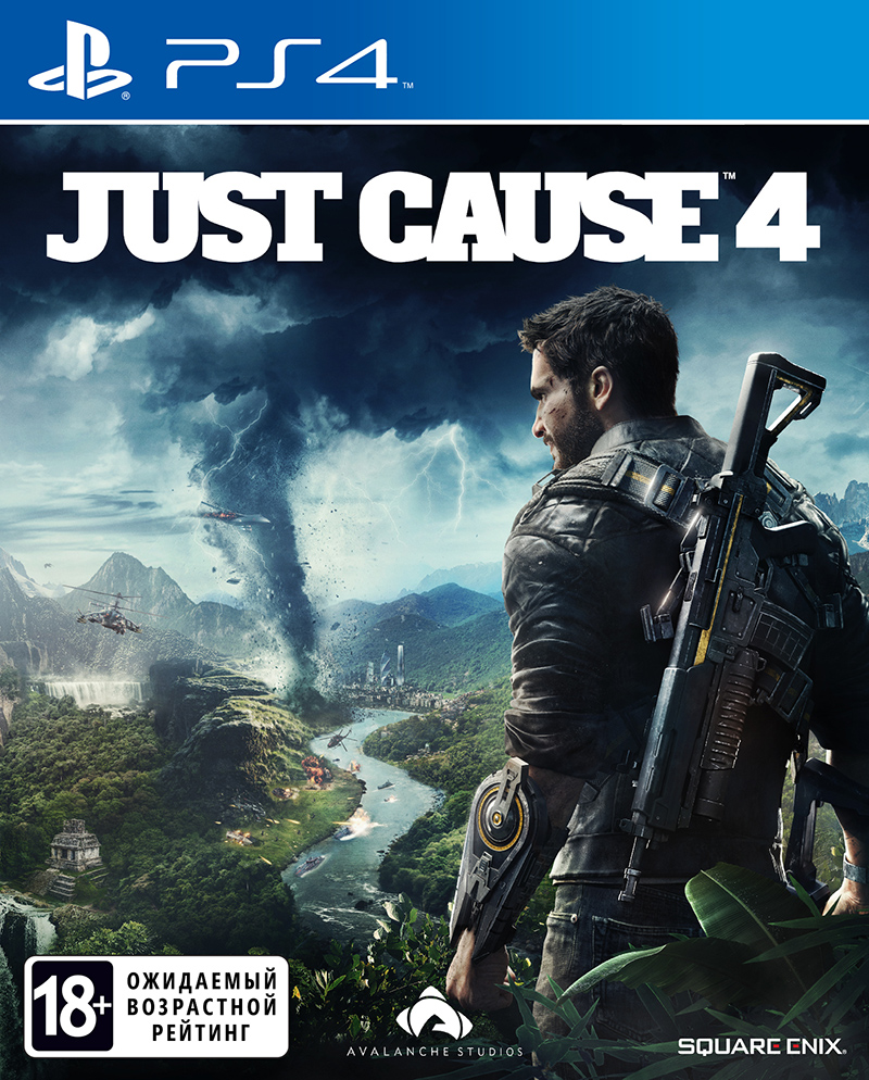 Just Cause 4 (PS4) (GameReplay)