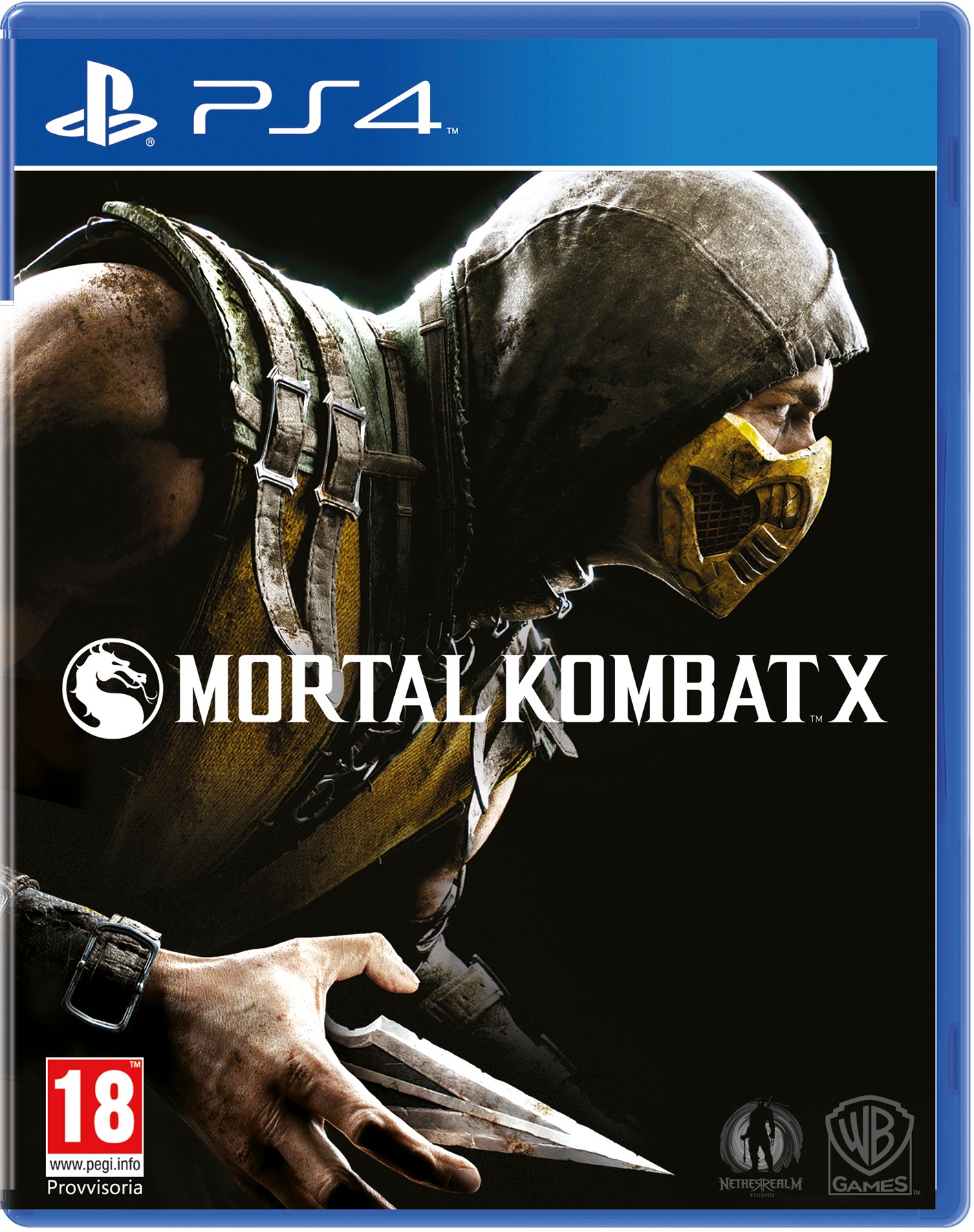 Mortal Kombat X (PS4) (GameReplay)