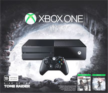 Xbox One 1TB + Rise of Tomb Raider