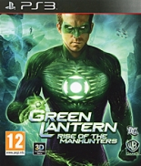 Green Lantern: Rise of Manhunters (Зелёный фонарь) (PS3)