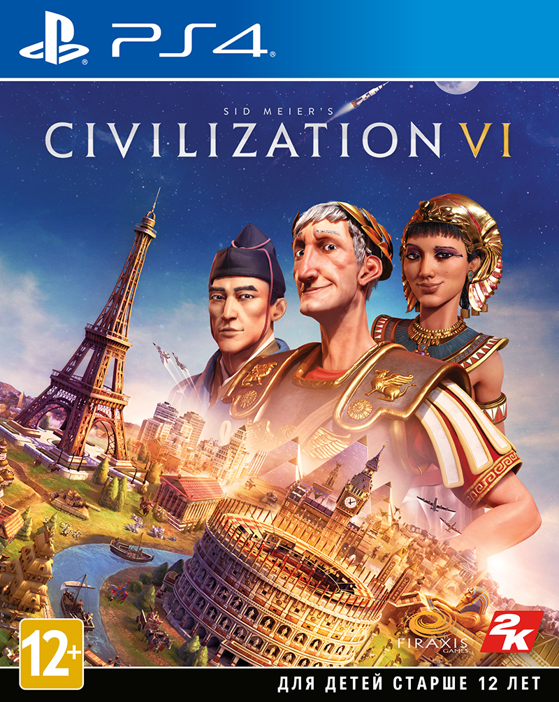 Sid Meier's Civilization VI (PS4) (GameReplay)