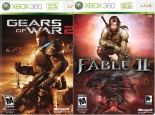 Gears of War 2 + Fable 2 (Xbox360)