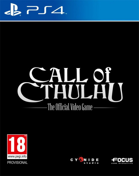 Call of Cthulhu (PS4) (GameReplay)