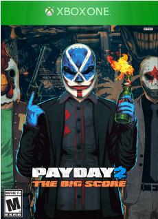 Payday 2: the Big Score (XboxOne)