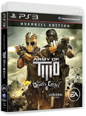 Army of TWO The Devil's Cartel. Overkill Edition (PS3)