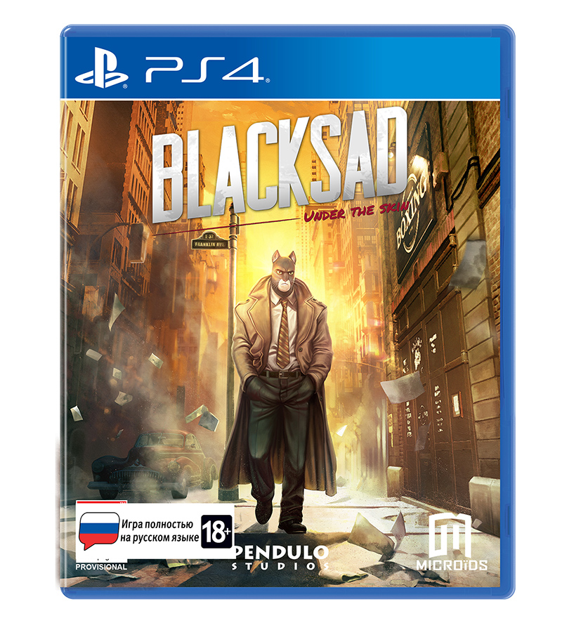 Blacksad: Under The Skin Limited Edition (PS4) (GameReplay)