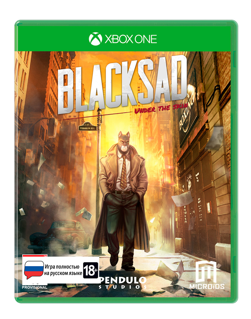 Blacksad: Under The Skin. Limited Edition (Xbox One) (GameReplay)