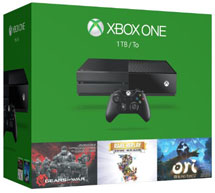 Xbox One 1TB + Gow, Rare Replay, Ori