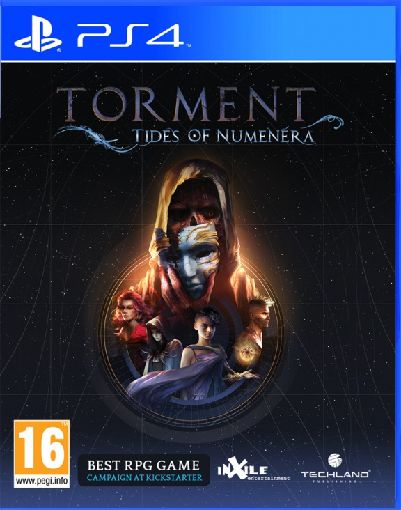 Torment: Tides of Numenera (PS4) (GameReplay)
