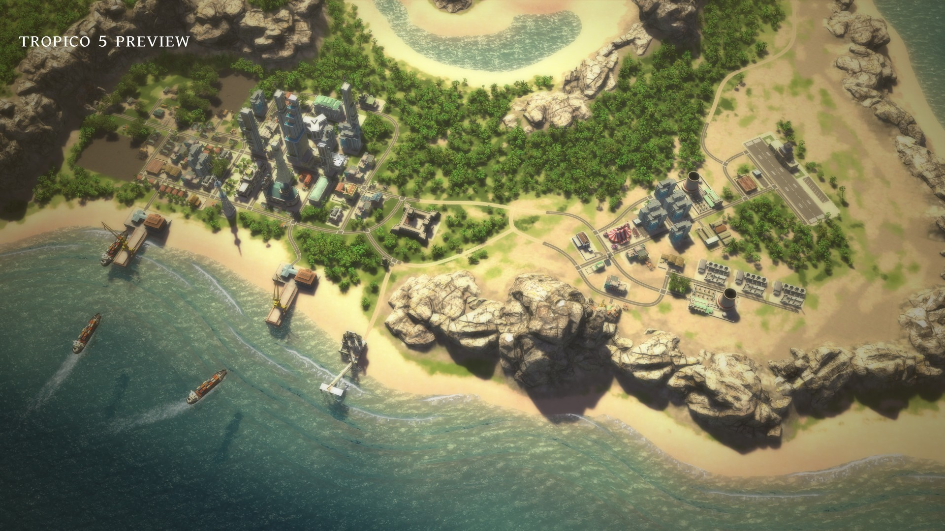 Tropico 5 v110 + 14 dlc на компьютер  торрент