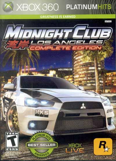 Midnight Club: Los Angeles Complete Edition (Xbox 360) (GameReplay)