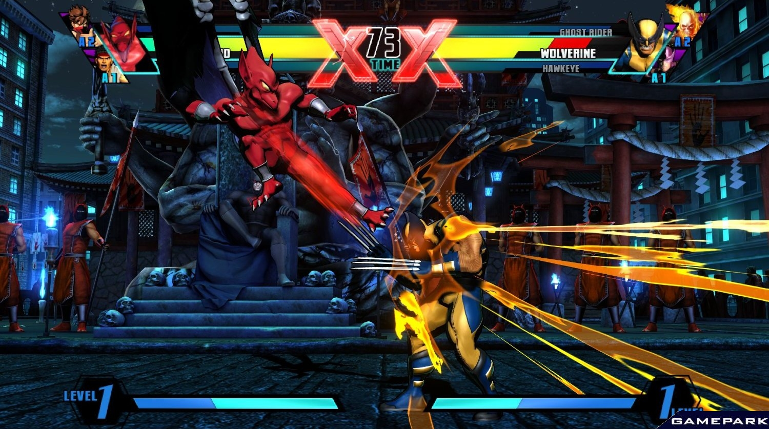 Скриншот ultimate marvel vs capcom 3 ps3 6
