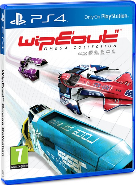 WipEout Omega Collection (PS4) (GameReplay)