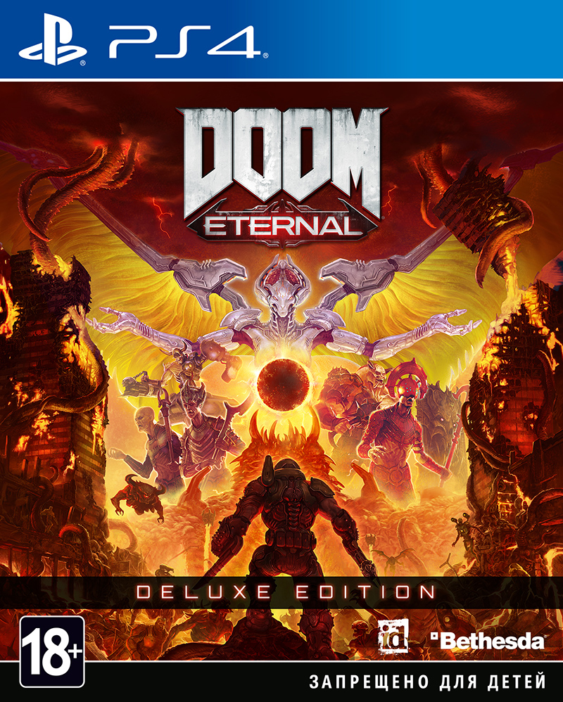 DOOM Eternal. Deluxe Edition (PS4) (GameReplay)