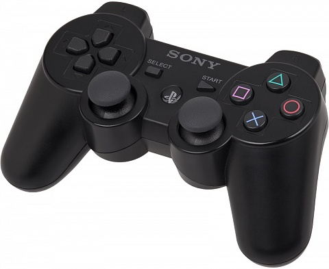 PS 3 Геймпад беспроводной Sony Dual Shock Black Original (CECHZC2E)