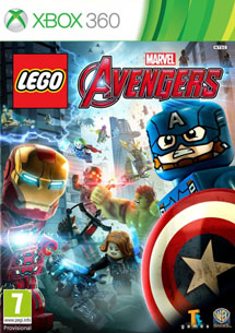 LEGO: Marvel Мстители (Xbox360)