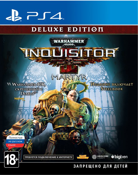 Warhammer 40,000: Inquisitor - Martyr. Deluxe Edition (PS4) (GameReplay)