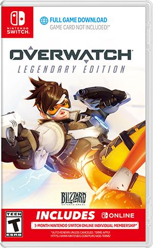 Overwatch. Legendary Edition (Nintendo Switch) фото