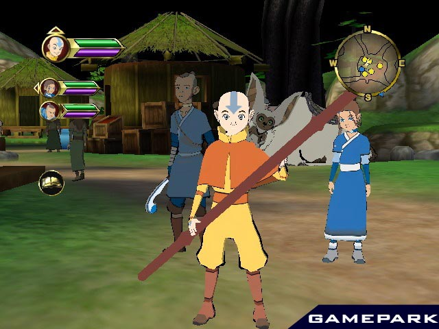 Игру Avatar The Legend Of Aang