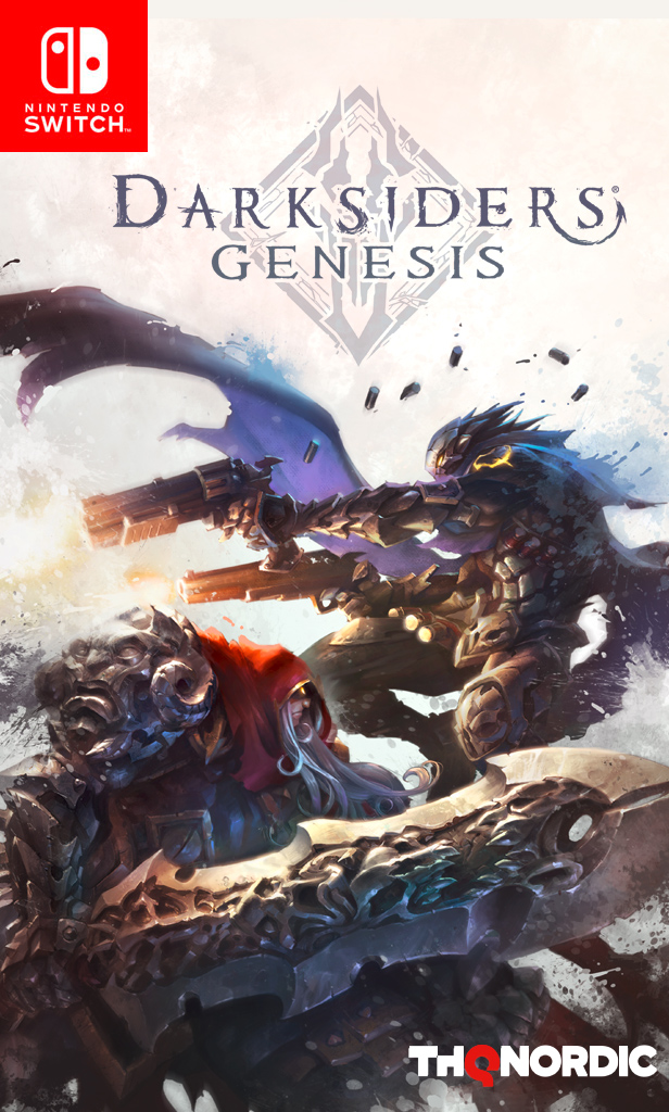 Darksiders Genesis Стандартное издание (Nintendo Switch) (GameReplay)