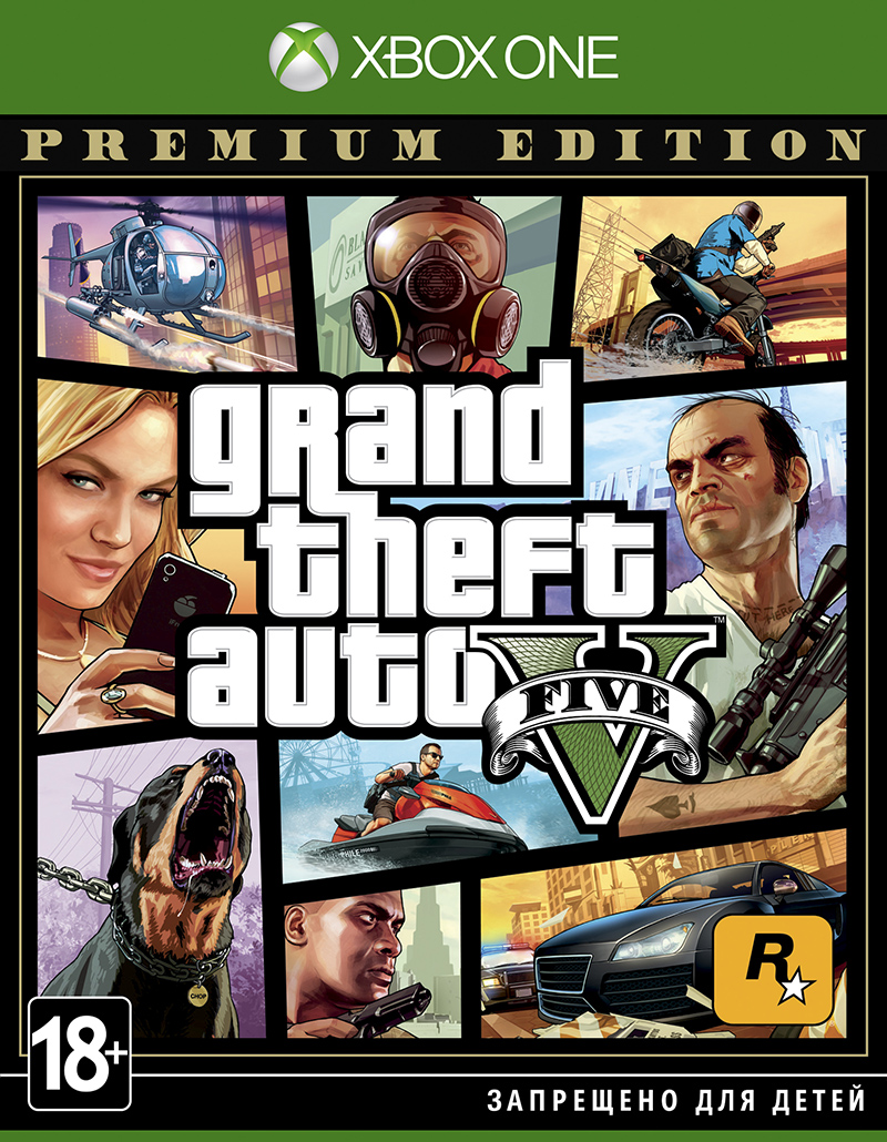 Grand Theft Auto V. Premium Edition (Xbox One) (GameReplay)