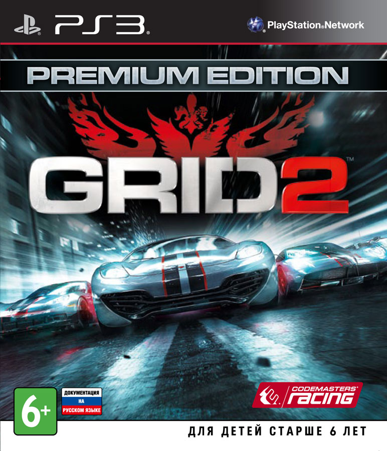 GRID 2 (PS3) (GameReplay)