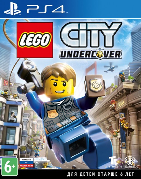 LEGO CITY Undercover (PS4) (GameReplay)